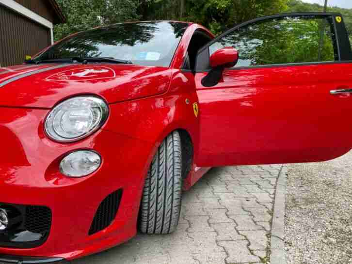 Abarth 500 Ferrari Dealers Edition ltd. 88 200
