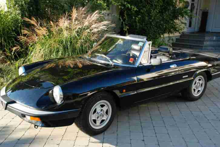 alfa romeo spider 115 cabrio oldtimer beste alfa romeo. Black Bedroom Furniture Sets. Home Design Ideas
