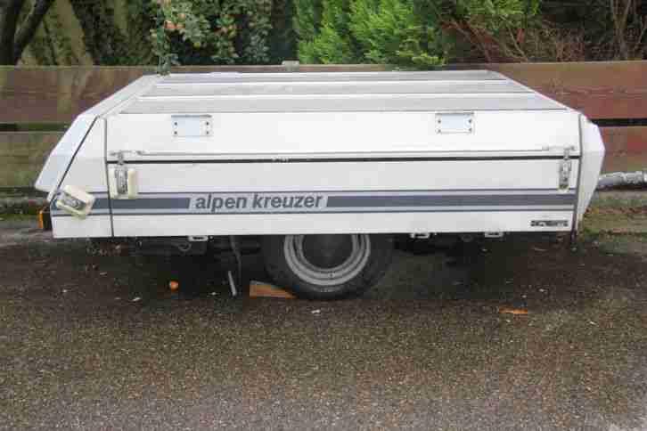 alpenkreuzer senior faltcaravan zeltanh nger wohnwagen. Black Bedroom Furniture Sets. Home Design Ideas