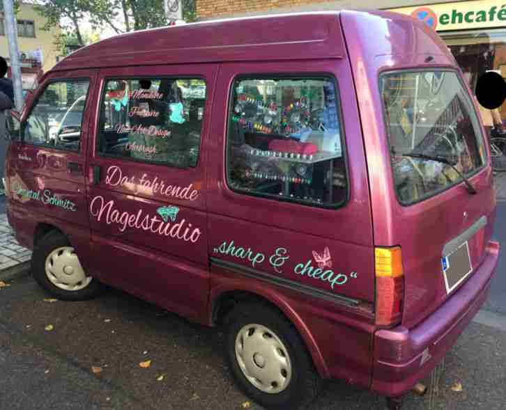 Asia Kia Towner  Daihatsu Hijet  Pink Metallic
