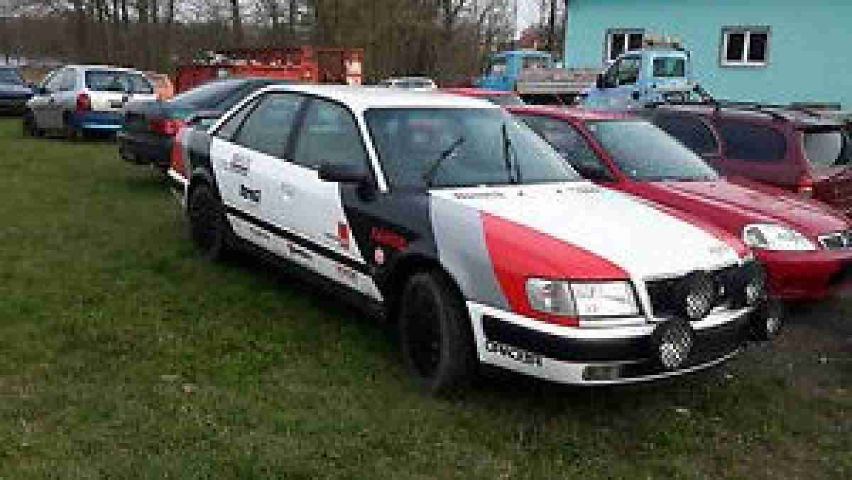 100 A6 Rally Look Limousine 2.6 Liter 150 PS