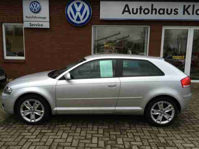 "Audi A3 1.6 75kW 102PS Attraction Alu-17""+Climatronic"