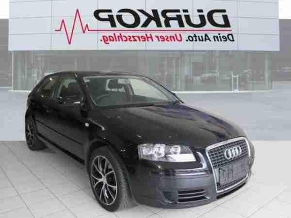 Audi A3 1.6 Attraction Klimaautomatik 17 Zoll