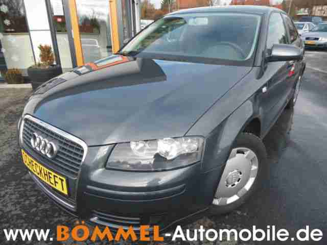 Audi A3 1.6 Attraction, Modellpflege, Klima, Scheckheft