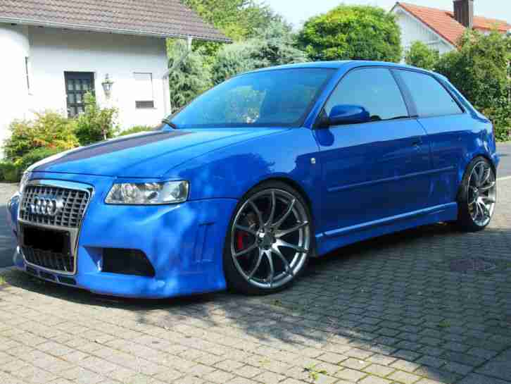 audi a3 8l 1 8 125 ps showcar tuning tolle angebote in audi. Black Bedroom Furniture Sets. Home Design Ideas