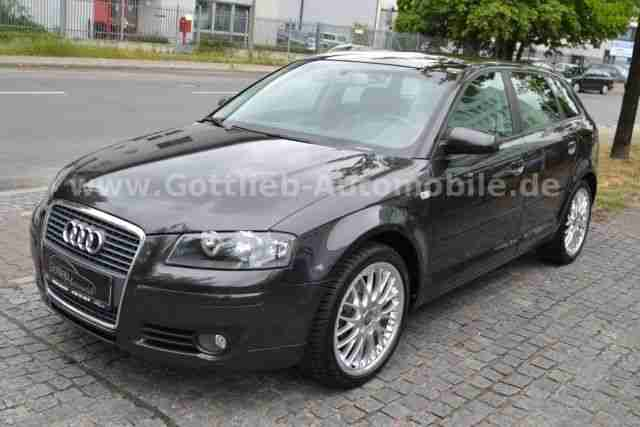 audi a3 sportback 1 9 tdi leder p dach pdc tolle. Black Bedroom Furniture Sets. Home Design Ideas