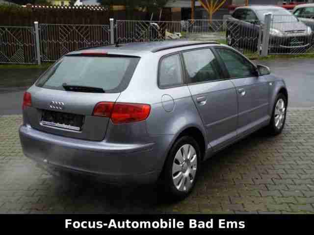 Audi A3 Sportback 2.0 TDI Attraction Alu, AHK