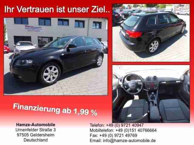Audi A3 Sportback 2.0 TDI Attraction PDC