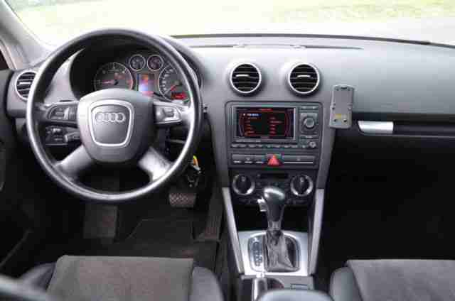 audi a3 sportback 2 0 tdi xenon leder navi tolle. Black Bedroom Furniture Sets. Home Design Ideas