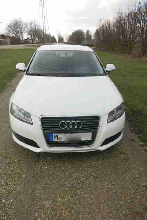 Audi A3 Sportback Attraction 1.4 TFSI 6 Gang, 92kw, weiß ab 18.02.