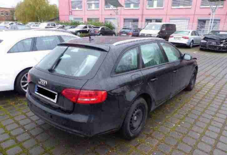 audi a4 avant 2 0 tdi dpf attraction unfall tolle angebote in audi. Black Bedroom Furniture Sets. Home Design Ideas