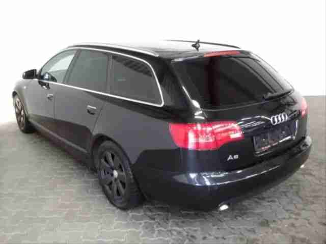 audi a6 avant 3 0 tdi tiptronic quattro schwarz tolle. Black Bedroom Furniture Sets. Home Design Ideas