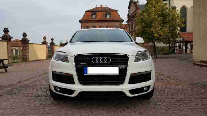 Audi Q7 S Line 4.2 TDI V8 Twin Turbo 375PS 22 Zoll Panoramadach Bose Soundsystem