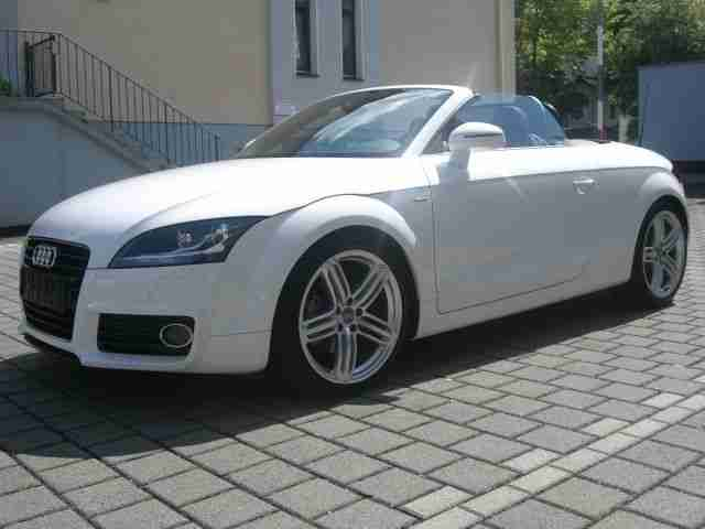 audi tt cabrio s line 19 zoll navi audi tolle angebote in audi. Black Bedroom Furniture Sets. Home Design Ideas