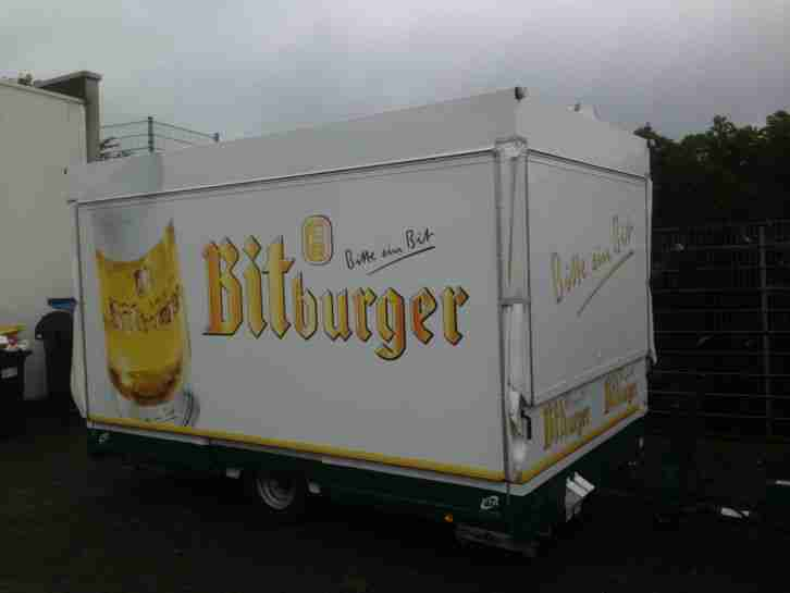 ausschankwagen bierwagen im bitburger design. Black Bedroom Furniture Sets. Home Design Ideas