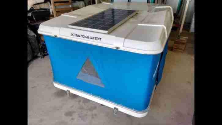 autodachzelt dachzelt maggiolina mit solar wohnwagen. Black Bedroom Furniture Sets. Home Design Ideas