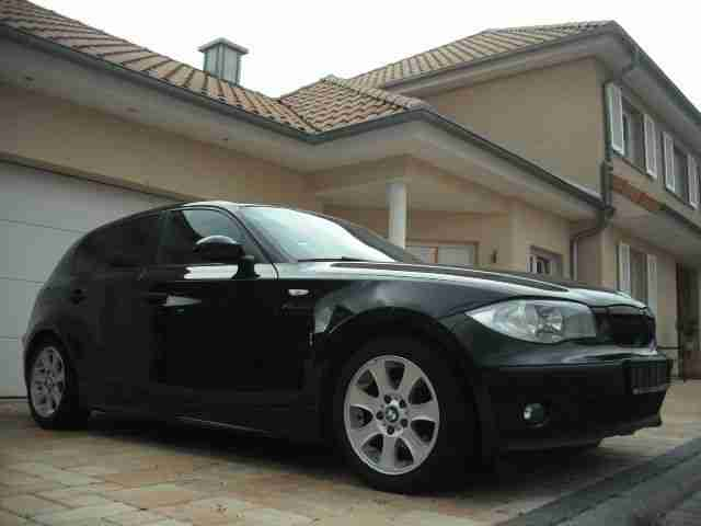 bmw 116i advantage paket modell 2007 dvd alu bestes. Black Bedroom Furniture Sets. Home Design Ideas