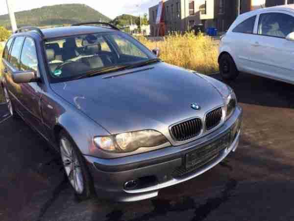 316i touring, Edition 33, M Sportpaket, 18 Zoll Alu