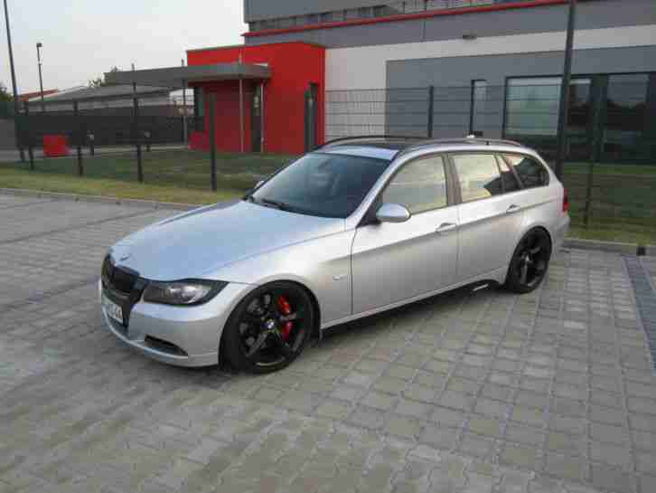 BMW 320d M Performance große Bremse 19 Zoll Panoramadach Tuning sehr gepflegt
