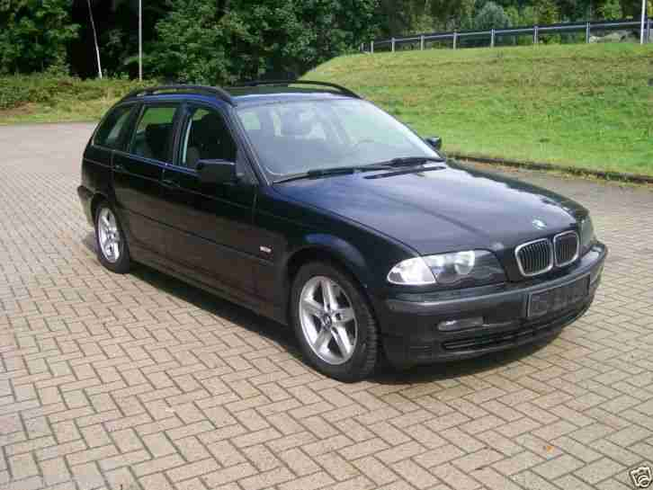 bmw 320i touring e46 mit 125kw 170ps ez 04 bestes angebot von bmw autos. Black Bedroom Furniture Sets. Home Design Ideas