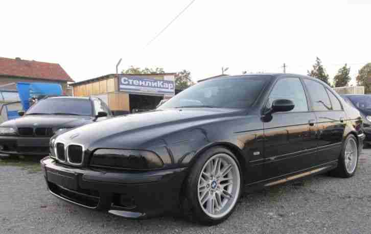 BMW 528i M Pack KW Coilover 18 Zoll Style 65 PDC A C LEDER !