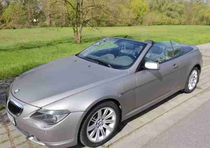 645 CI Cabrio 6er Voll! Video!
