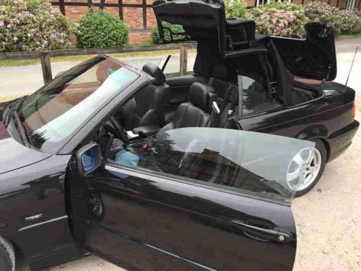 bmw e46 320 ci cabrio m paket 2 hand bestes angebot von. Black Bedroom Furniture Sets. Home Design Ideas