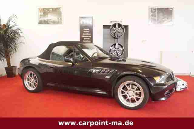 bmw z3 roadster 1 9 m paket leder sitzheizung bestes. Black Bedroom Furniture Sets. Home Design Ideas