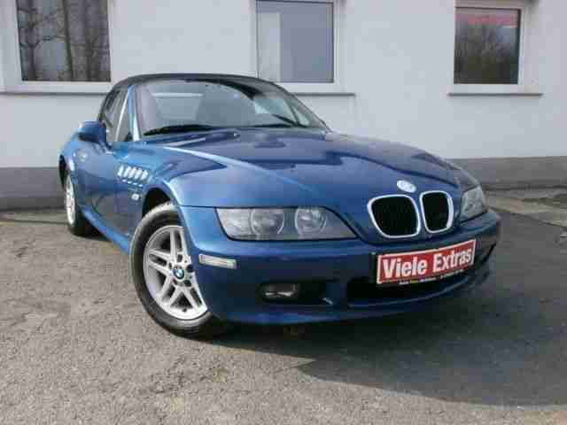 bmw z3 roadster leder elektr verdeck bestes. Black Bedroom Furniture Sets. Home Design Ideas