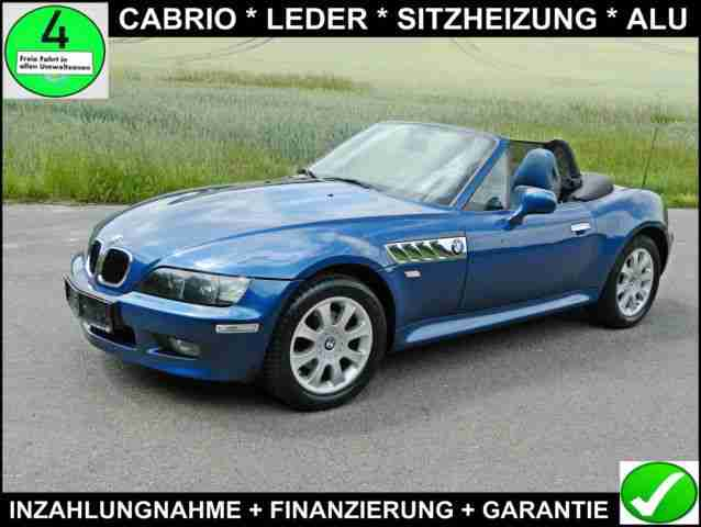 bmw z3 roadster leder sitzheizung alu bestes. Black Bedroom Furniture Sets. Home Design Ideas