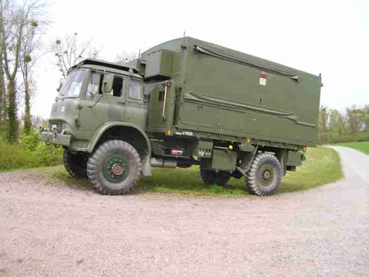 Bedford MJP 2 britisch Army box body