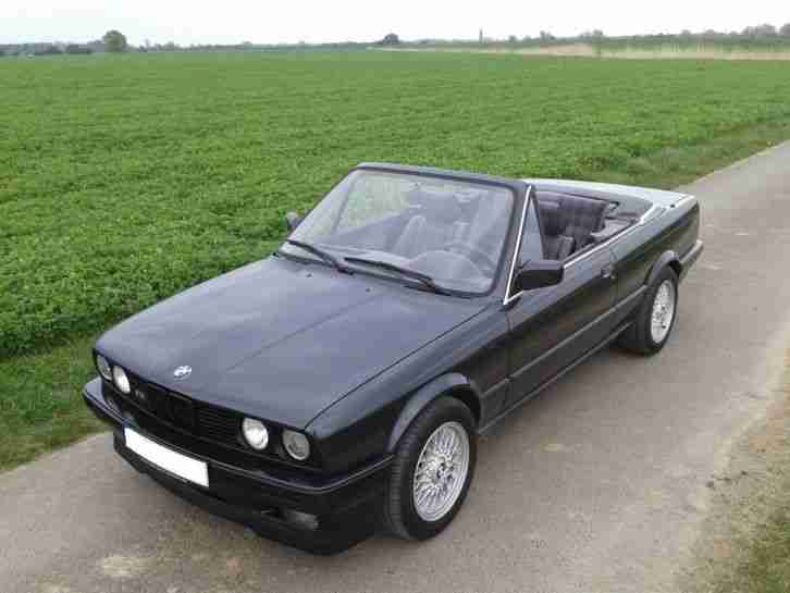 bmw e30 320i cabrio t v 150000km nfl modell bestes angebot von bmw autos. Black Bedroom Furniture Sets. Home Design Ideas