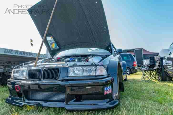 E36 M3 Turbo Dragracing , Drift , Bergrennen