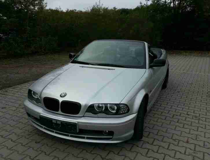 bmw e46 cabrio 320ci bestes angebot von bmw autos. Black Bedroom Furniture Sets. Home Design Ideas