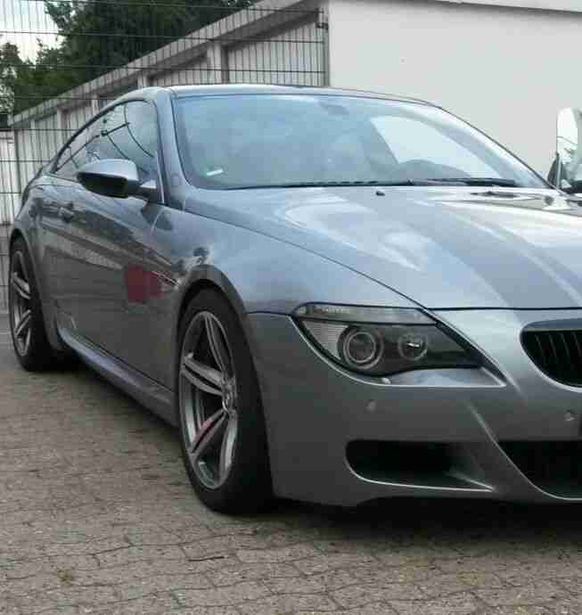 bmw m6 e63 bj2005 mit seitenschaden bestes angebot von bmw autos. Black Bedroom Furniture Sets. Home Design Ideas