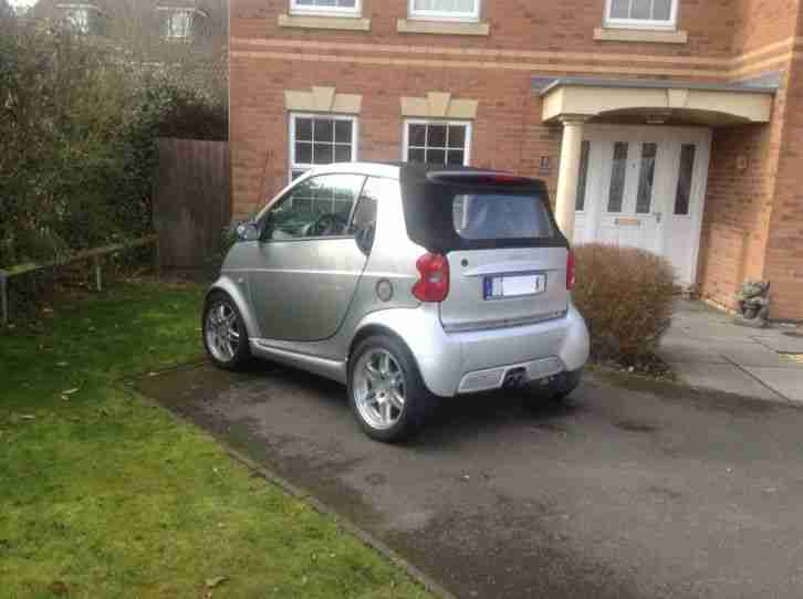 Brabus Smart Cabrio For Two Silber Bj.2004 wenig km 57000 Leder