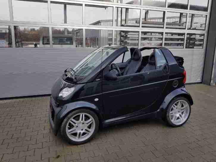 brabus smart cabrio first edition 188 500 grosse menge. Black Bedroom Furniture Sets. Home Design Ideas