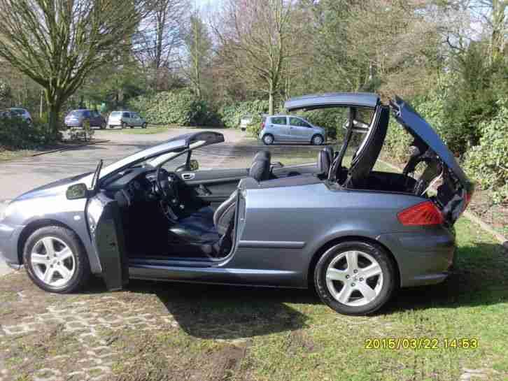 cabrio 307 cc tolle angebote in peugeot. Black Bedroom Furniture Sets. Home Design Ideas
