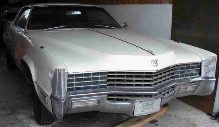 cadillac eldorado coup 1967 mit frontantrieb die besten angebote amerikanischen autos. Black Bedroom Furniture Sets. Home Design Ideas