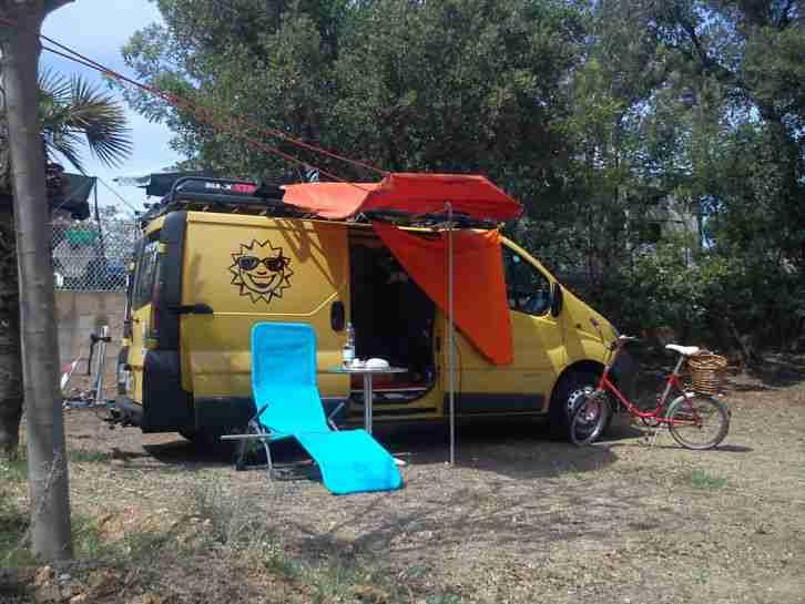 campingbus renault trafic t v neu wohnwagen wohnmobile. Black Bedroom Furniture Sets. Home Design Ideas