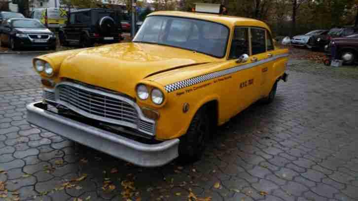 checker cab original taxi aus new york usa die besten. Black Bedroom Furniture Sets. Home Design Ideas
