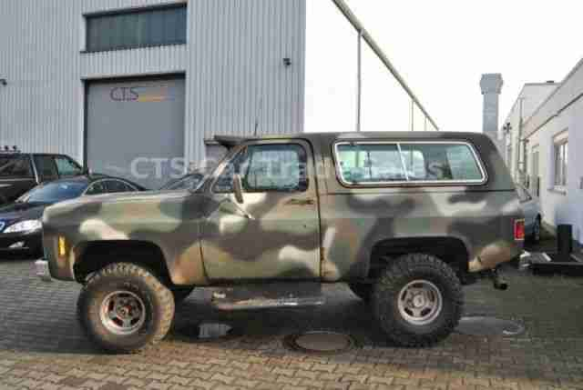 Chevrolet Blazer K5 Big Block 454 7 4 Ltr Lpg Angebote Dem Auto Von Anderen Marken