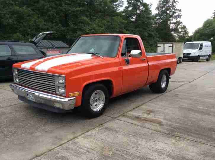 Chevrolet C 10 Pick-Up BJ 1981 mit H-Zulassung