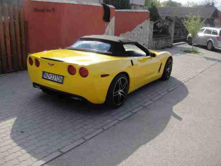 chevrolet corvette c6 convertible cabrio chevy die. Black Bedroom Furniture Sets. Home Design Ideas