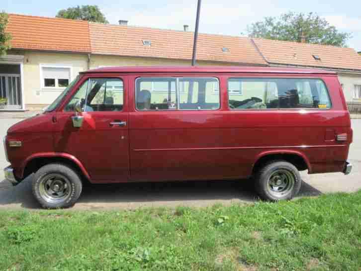 chevrolet g20 beauville sportsvan chevy van v8 die besten angebote amerikanischen autos. Black Bedroom Furniture Sets. Home Design Ideas