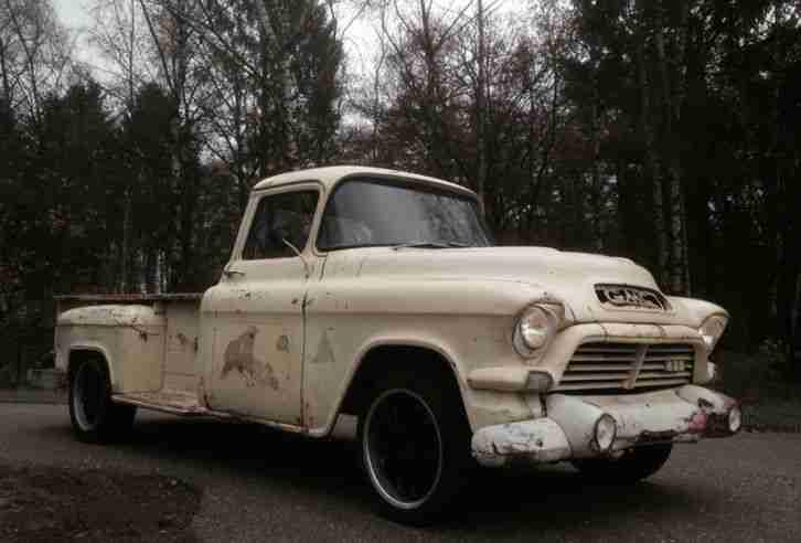 chevrolet gmc pick up truck 1957 lonbed die besten angebote amerikanischen autos. Black Bedroom Furniture Sets. Home Design Ideas