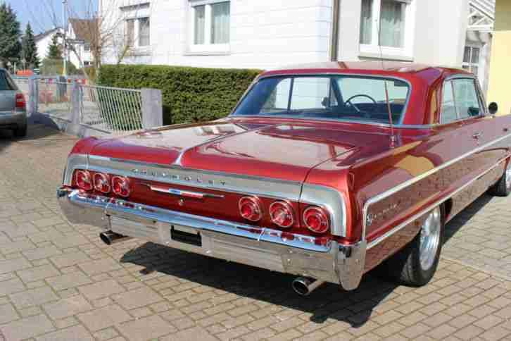 chevrolet impala 1964 350cui top zustand h die besten. Black Bedroom Furniture Sets. Home Design Ideas
