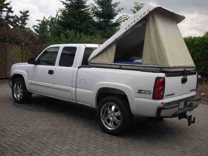 chevrolet silverado 2005 z71 4x4 dachzelt die besten. Black Bedroom Furniture Sets. Home Design Ideas