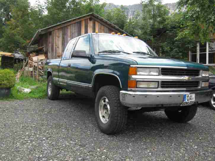 Chevrolet Silverado Pick up K1500 OffRoad Bj. 96 LPG