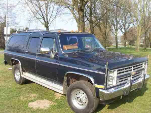 Chevrolet Suburban 4x4 6.2 TURBO diesel k30 Turbo! 1985